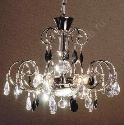 C-389/5-P chrome black Люстры (Copen Lamp)