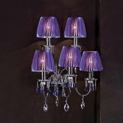 118A03 chrome/violet SW Бра (Beby Group)